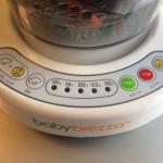 baby brezzaの操作ボタン